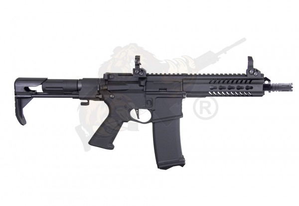Xtreme Tactical Carbine / XTC M4 PDW Airsoft in Black -F- Modify