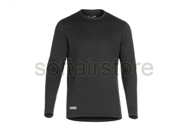 UA Tactical HeatGear Tech Long Sleeve Tee in Schwarz