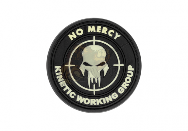 JTG - No Mercy - Kinetic Working Group - Insider Patch, Glow in the Dark