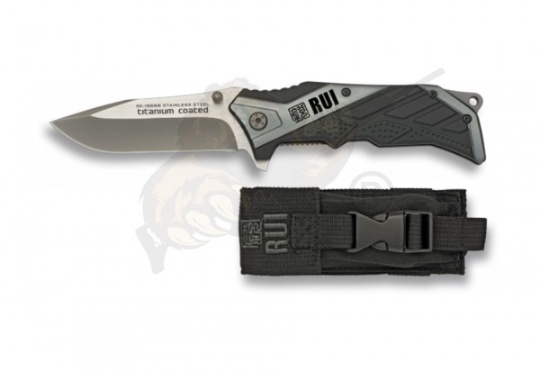 Tactical pocket Knife grey - RUI