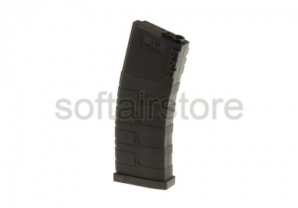 5er Pack Magazin M4 Midcap in Black (120 BBs) G&G