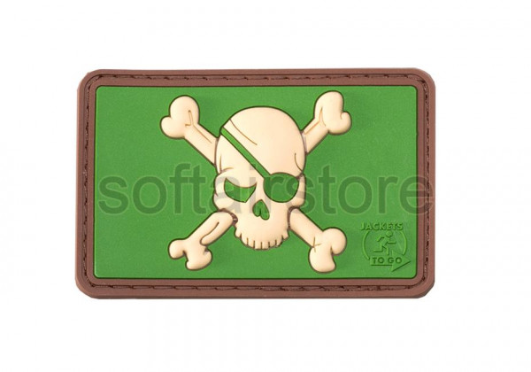 JTG - Pirate Skull patch, multicam