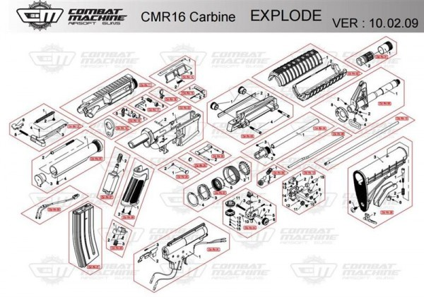 Spare Part CM-R4-04 #5+6 for the CM16 series from G&G