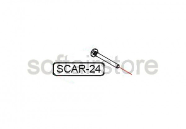 Part SCAR 24 from G&G