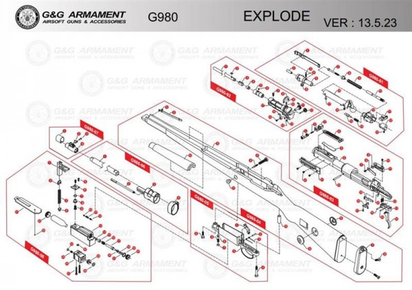 Part G980-03 #23 for the G980 from G&G