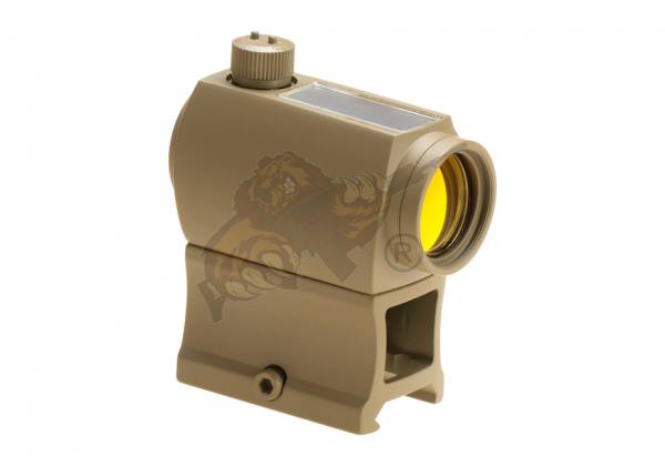 Solar Power Red Dot Sight Desert - Aim-O