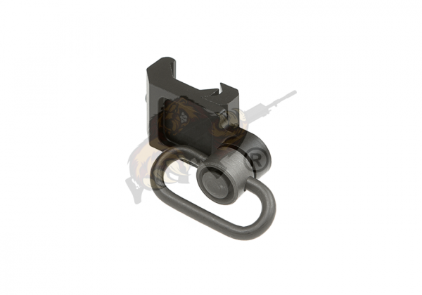 Offset QD Swivel Attachment - Schwarz