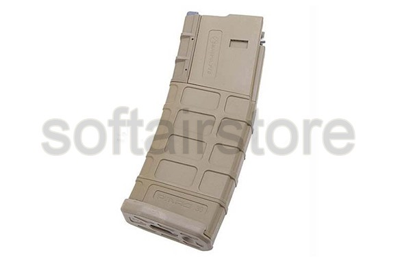 G&P 39rd MAGPUL PTS Magazin für WA M4 GBB in Tan