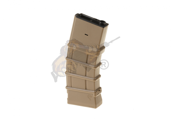 magazine M4 Hicap Thermold 450rds in Desert Tan from G&G