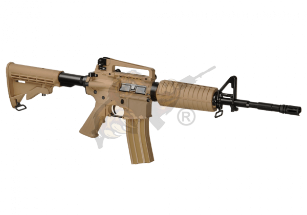 G&G CM16 Carbine Airsoft - max 0,5 Joule in desert