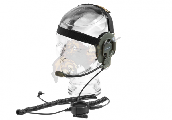 Bow M Tactical Military Headset Midland Connector