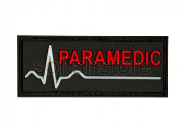 JTG - Paramedic Patch mit gid Herzlinie (glow in the dark)