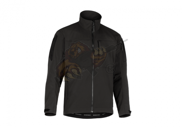Rapax Softshell Jacket in Black - Claw Gear