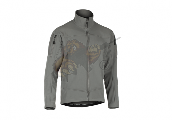 Audax Softshell Jacket in Solid Rock - Claw Gear