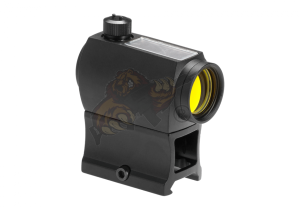 Solar Power Red Dot Sight Black - Aim-O