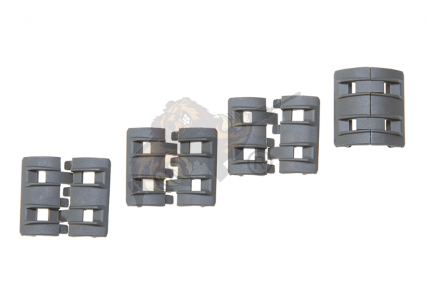 Twin Rail Panel Set 4x2 in Foliage Green - Element
