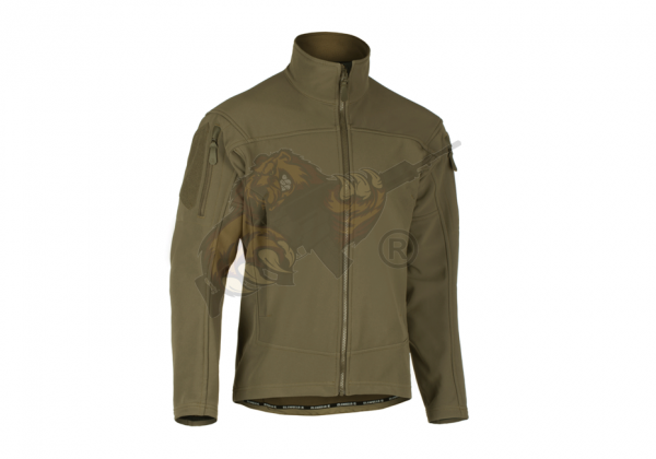Audax Softshell Jacket in RAL7013 - Claw Gear