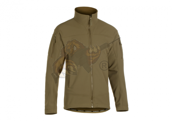 Audax Softshell Jacket in Swamp - Claw Gear