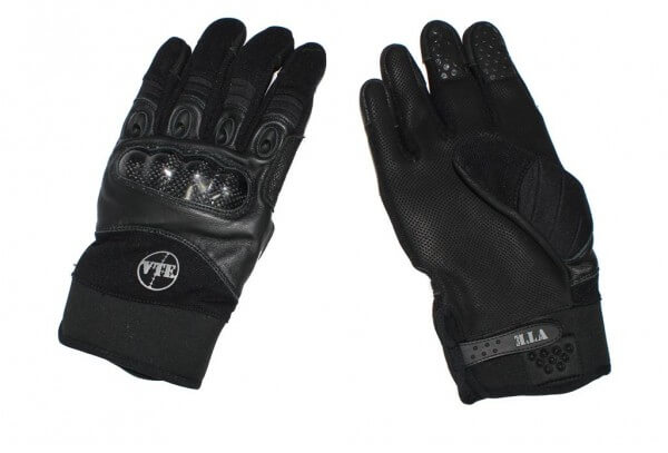 Gloves SF with Knuckles Black