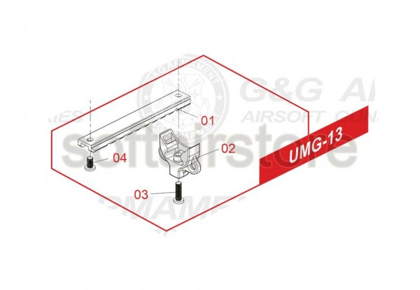 Spare Part UMG-13 for the UMG from G&G