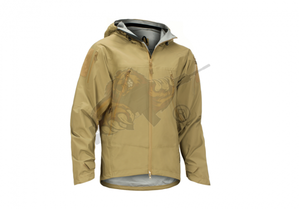Melierax Hardshell Jacket in Coyote - Claw Gear
