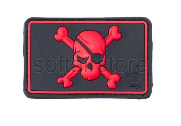 JTG - Pirate Skull patch, blackmedic