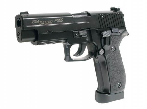 Sig Sauer P226 E2 Airsoft Pistole, Co2 Blow-Back -F-
