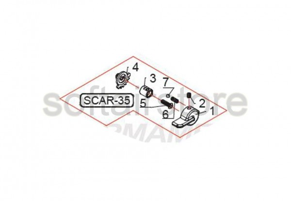 Part SCAR 35 from G&G