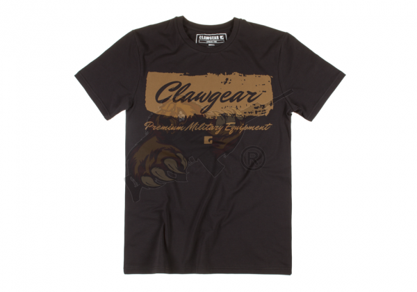 Claw Gear Handwritten Tee - T-Shirt in Schwarz