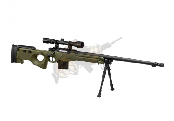 L96 AWP FH Sniper Rifle Airsoft Set Upgraded OD - Well -F-