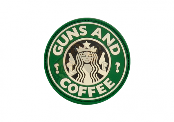 JTG - Guns and Coffee Patch, fullcolor