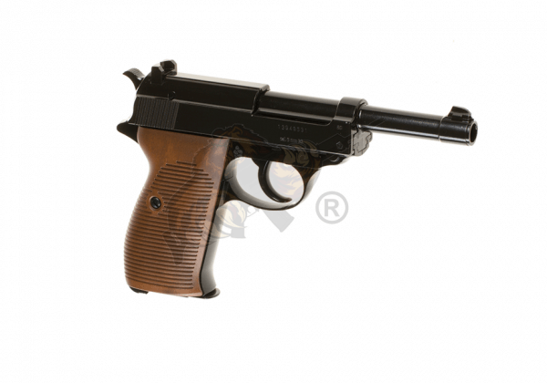 Walther P38 Airsoft Pistole, Co2 Blow-Back -F-