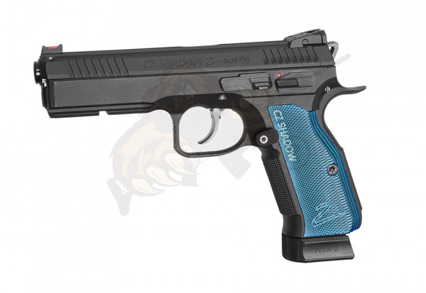 KJ Works CZ Shadow 2 Black/Blue Co2 -F-